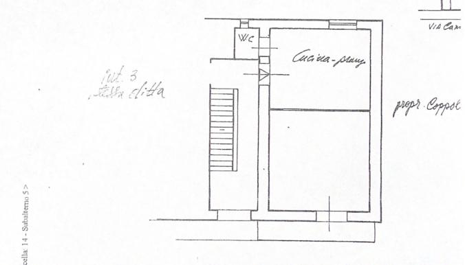 Planimetrie Primo Piano DX