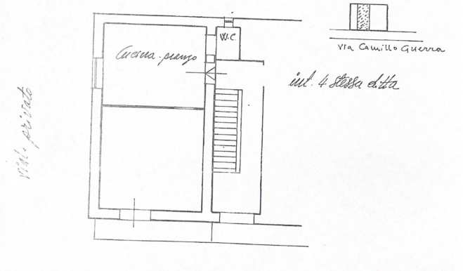 Planimetrie Primo Piano SX