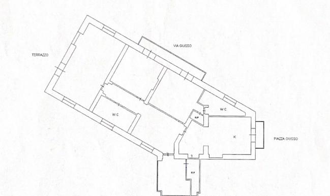 Planimetria Via Giusso 9